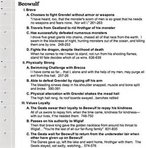 Beowulf Analysis Essay by Essays On Service Beowulf Bibliographyrequirements X Fc2
