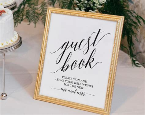 Sign In Book Wedding Guest Book Sign Guest Book Wedding Guest Book Ideas