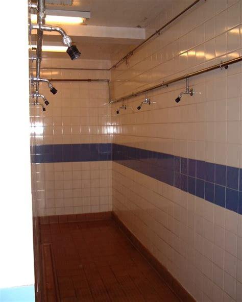 School Shower by Junior High School Showers Wallpaper