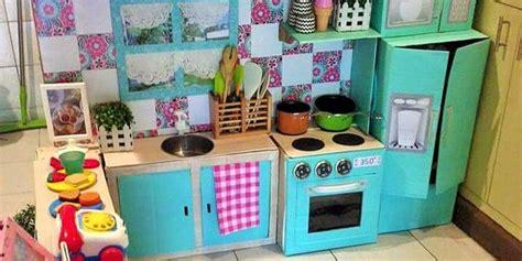 cucine da bambini come creare una cucina fai da te per far giocare i bambini