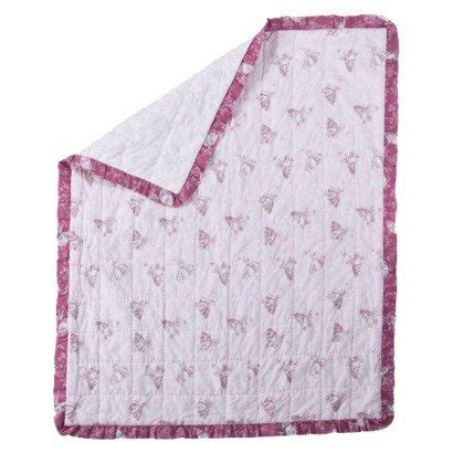 shabby chic bedding simply shabby chic baby ballerina quilt pink