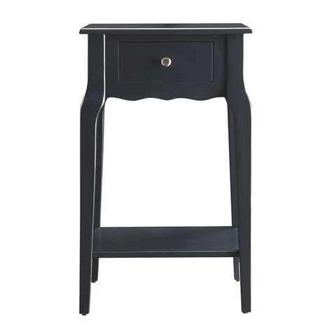 accent table sale homehills eugenia 1 drawer accent table on sale
