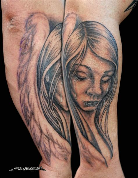weeping angel tattoo designs www imgkid the image