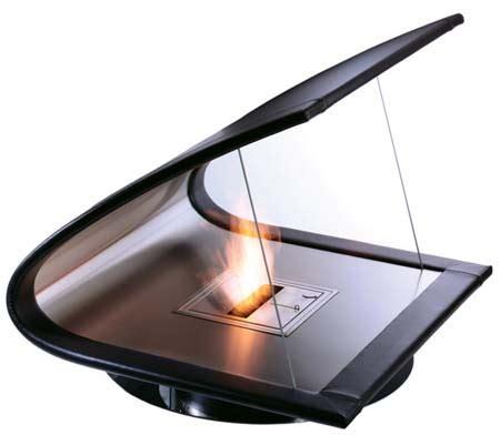 eco friendly zeta fireplace from ecosmart green design blog