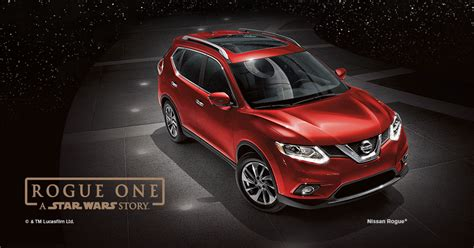2017 nissan rogue wars nissan announces rogue one a wars limited
