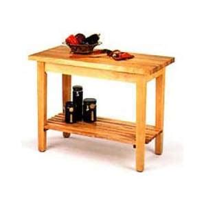 wooden kitchen work table boos c01 s 36 quot x 24 quot country kitchen wood work table w 1 shelf