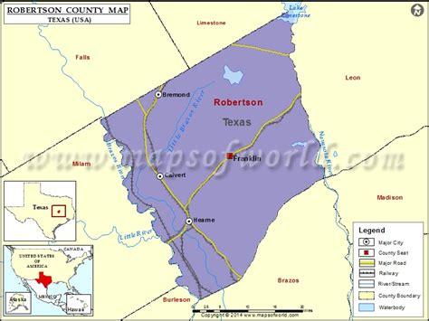 robertson county texas map robertson county map texas
