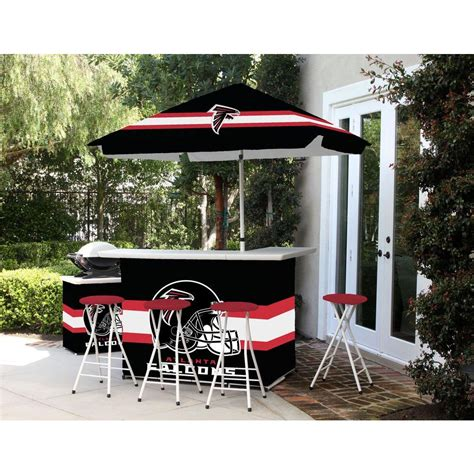 Bay Patio Bar by Best Of Times Atlanta Falcons All Weather Patio Bar Set