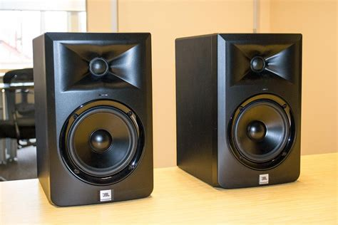 Speaker Aktif Jbl Lsr305 jbl s new lsr305 reference monitors pull a really clever trick digital trends