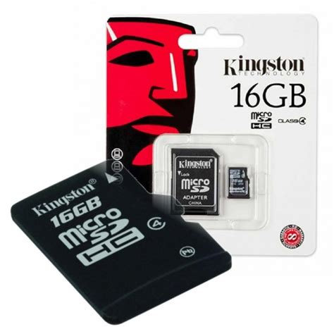 Micro Sd 16gb Di Bandung memoria micro sd 16gb kingston 25 000 pcmark