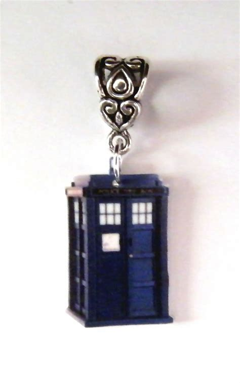 dr who tardis necklace charm jewelry doctor who dr who