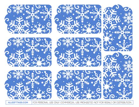 printable winter gift tags free winter gift tags