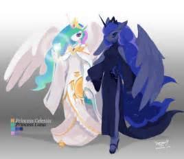 princess celestia princess luna tysontan deviantart