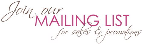 join our mailing list template beth godfrey great jewellery join mailing list