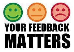 feedback matters – pins of light