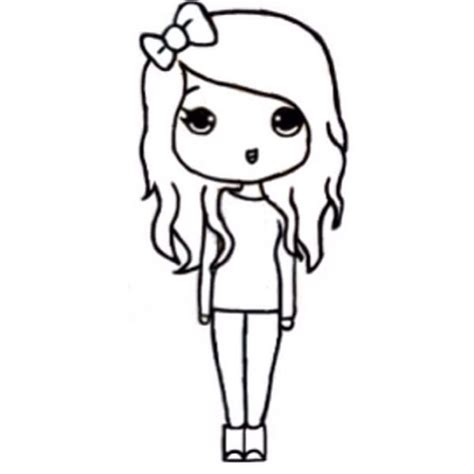 chibi template chibi pinterest girls chibi girl and