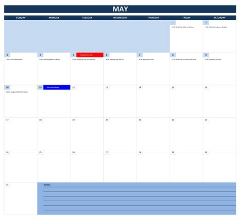 Calendã Can 2015 Excel 2016 Calendars Excel Templates