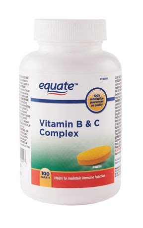 Vitamin B Complex Generik Equate Vitamin B C Complex Walmart Ca