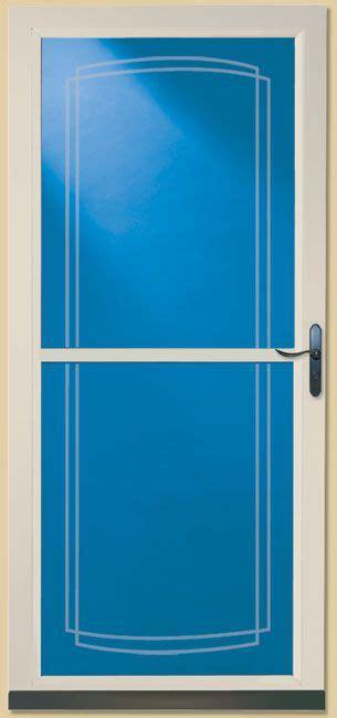 front door tradewinds  larson  lowes  retractable screen  beveled glass