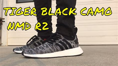 Termurah Adidas Nmd R2 Tiger Camo Primeknit Black Premium Origin tiger black camo adidas nmd r2 review on