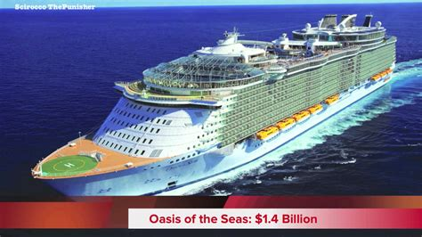 boat or ship words most expensive cruise ships in the world youtube