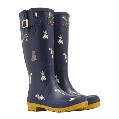 ebay joules joules printed welly ebay