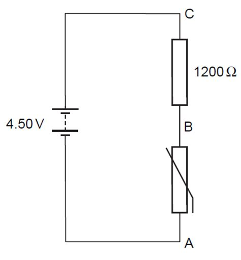 resistor in parallel with thermistor physics 9702 doubts help page 186 physics reference