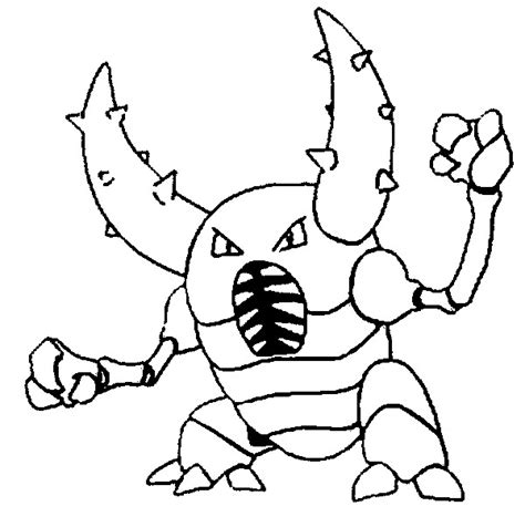pokemon coloring pages heracross v 228 rityskuvia pokemon pinsir kuvia pokemon