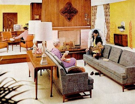 60s Living Room 60s living rooms retro mod living room