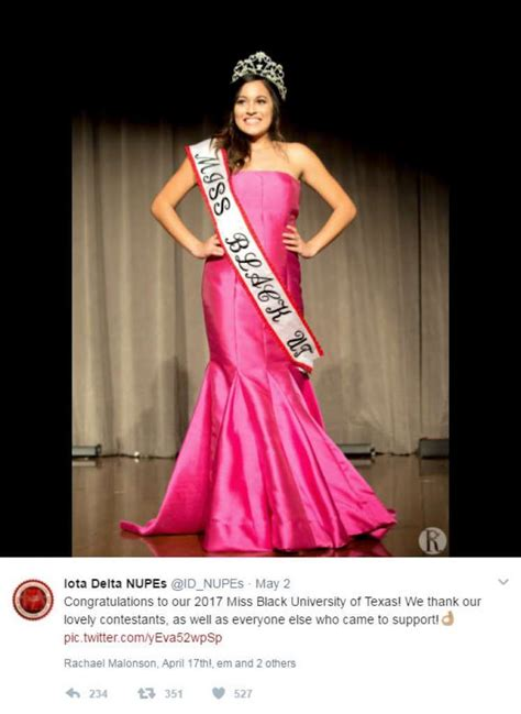 black miss miss black university of texas winner quot not black enough quot