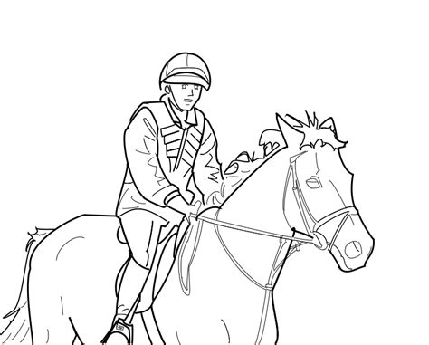 steady canter lineart by castelau on deviantart