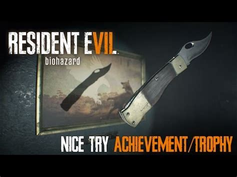 Is Trimspa Responsible For Nicoles by Resident Evil 7 Biohazard Try Achievement Trophy
