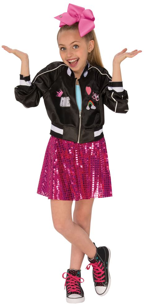 Costume Jacket jojo siwa bomber jacket costume tv book and