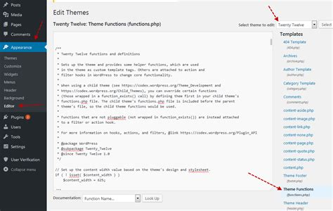 wordpress theme editor enable enable maintenance mode without plugin on wordpress