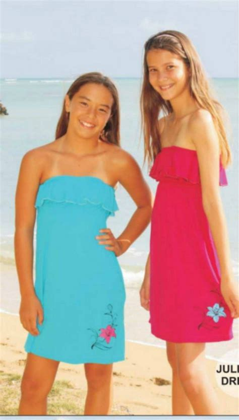 tween girls swimwear russia coral and reef juliana dress swim coverup