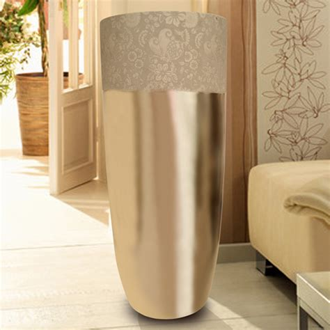 Large Modern Floor Vases by Modern Home Decoration Fashion Silver Large Floor Vase