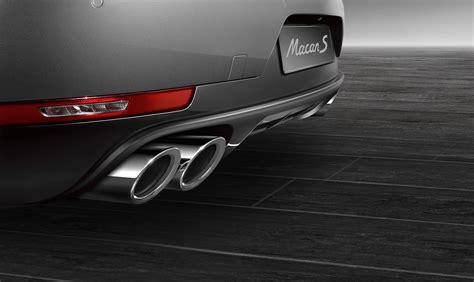 Porsche Macan Accessories by Porsche Cayenne Macan Get New Accessories 187 Autoguide