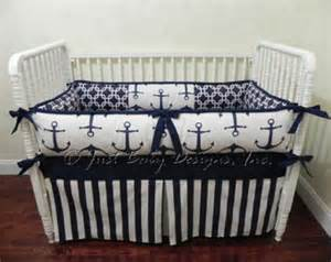 Baby Bedding Nautical Nautical Baby Bedding Etsy