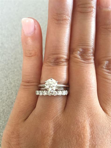 Tiffani Set Tifani shared setting weddingbee
