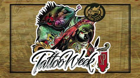 tattoo week logo tattoo week sp 2017 neste final de semana no expo center