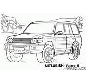 Boyama Sayfası  Japon Jeep