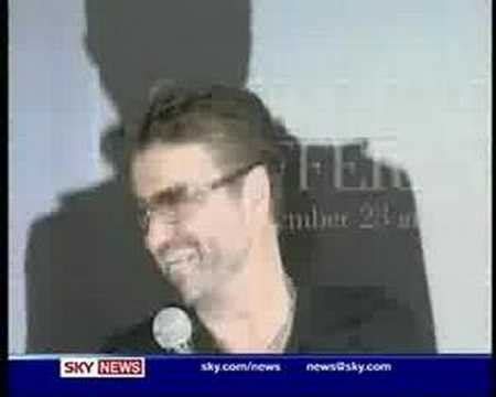 George Michael Cannabis Keeps Me Sane by George Michael Smokes A Joint During Tv