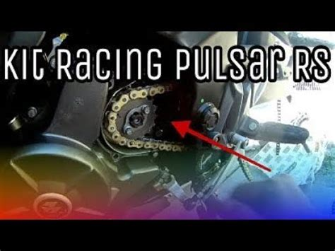 cadena regina dorada kit de arrastre racing pulsar rs cadena regina dorada