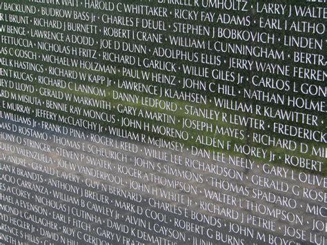 names  vietnam veterans