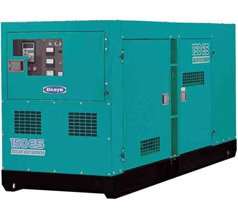 diesel generator dca 150esk denyo generator elight power