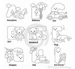 spanish alphabet coloring pages printable - Spanish Alphabet Coloring Pages