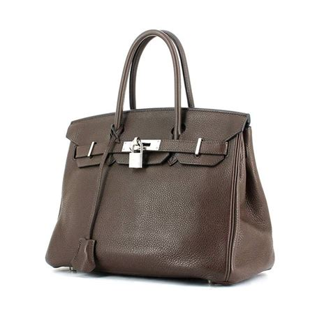 Tas Hermess Birkin Clemence 30cm Best Seller herm 232 s birkin handbag 326428 collector square