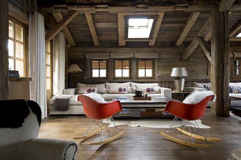 Rideaux Style Savoyard by Le Design R 233 Invente Le Chalet De Montagne Maison Cr 233 Ative