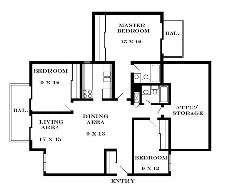 3 bedroom 2 bath apartments mesmerizing 3 bedroom 2 bath apartment floor plans