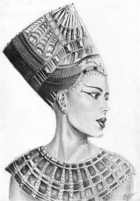 nefertiti by murka92 on deviantart